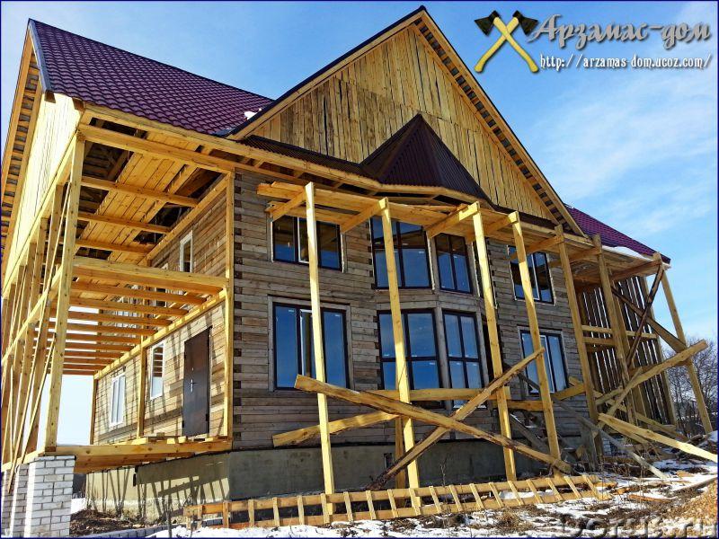 Строительство домов, бань, пристроев, беседок - Строительные услуги - Выполним спектр строительно -..., фото 1